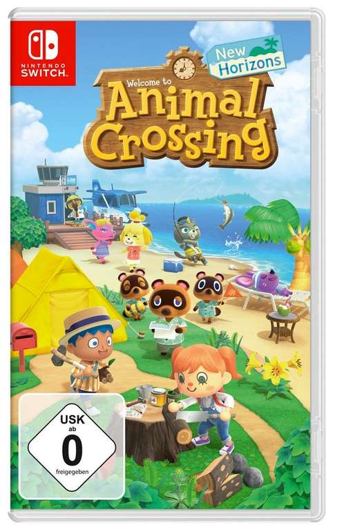 Nintendo Switch Animal Crossing: New Horizons für 42,02€ (statt 50€) - Saturn Abholung!
