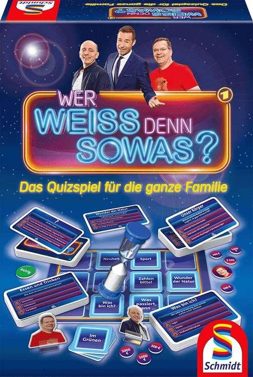 Schmidt Spiele Quizspiel 'Wer weiss denn sowas?' (49356) für 14,61€ inkl. Versand (statt 23€) - Thalia Club!