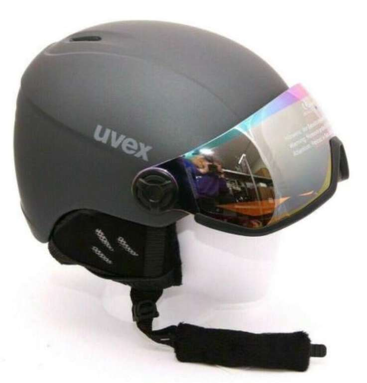Uvex HLMT 400 Visor Style Skihelm für 57,90€ inkl. Versand (statt 89€)
