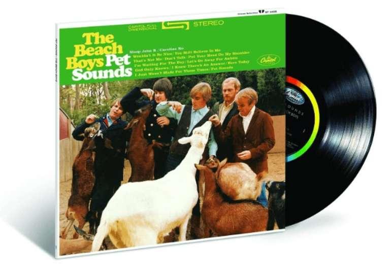 Vinyl Angebote aus dem Media Markt Prospekt - z.B. The Beach Boys - Pet Sounds für 14,99€