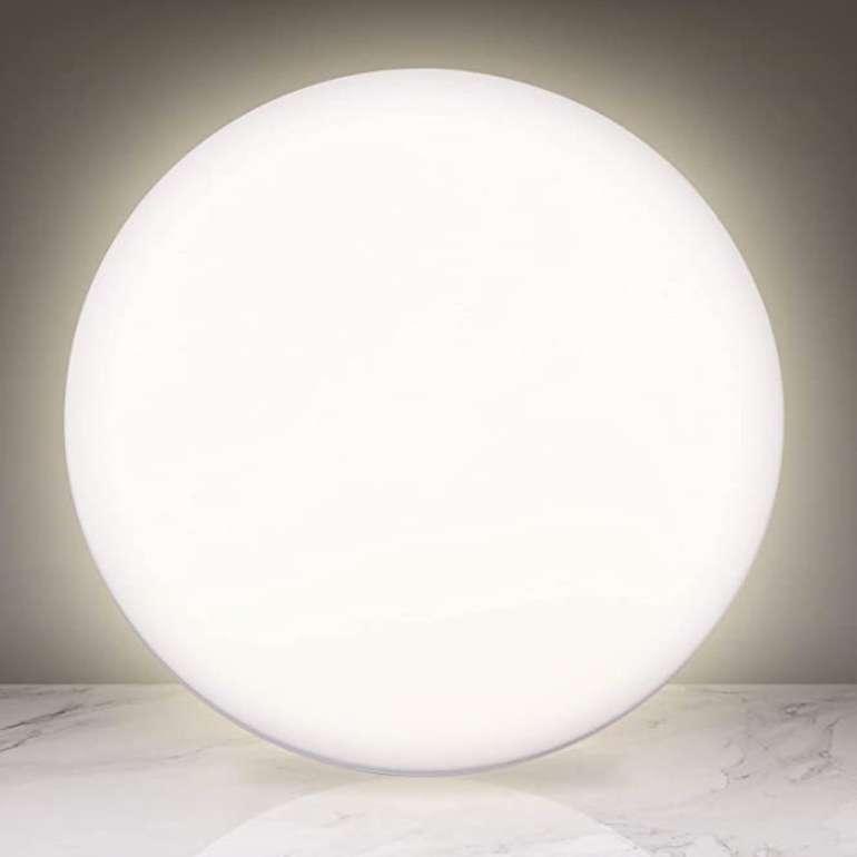 Swanew 24W LED Deckenleuchte (IP44-Schutz, 4000K 1924 Lumen, Ø38cm, EEK: A++) für 13,99€ inkl. Prime (statt 20€)