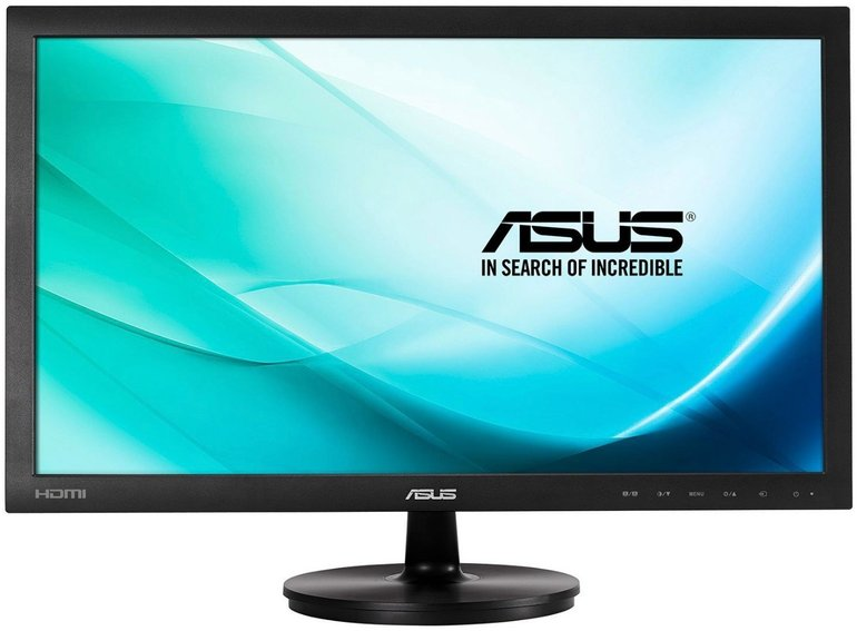 """Asus VS247HR 23,6"""" Full HD Monitor (HDMI, DVI, VGA, 2ms) für 87,99€ inkl. VSK"""