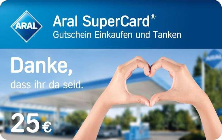 25€ Aral SuperCard für alle Reinigungskräfte in öffentlichen Einrichtungen kostenlos