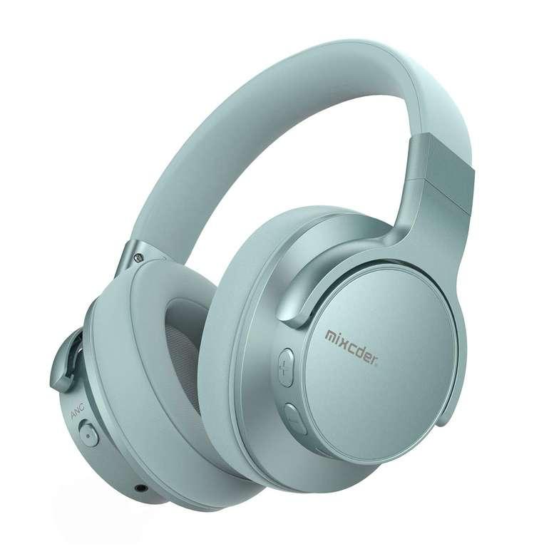 Mixcder E7- Bluetooth Kopfhörer mit aktiver Geräuschunterdrückung in 3 Farben für je 36,46€ inkl. VSK