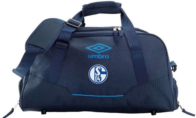 Umbro FC Schalke 04 Sporttasche Accuro Small Holdall Team Bag für 15€ inkl. VSK