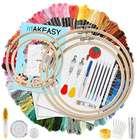 Makeasy 205-teiliges Stickerei Starter Set für 9,99€ inkl. Prime Versand (statt 20€)