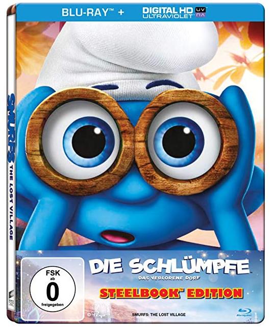 Die Schlümpfe - das verlorene Dorf (Blu-ray Steelbook) für 5€ (statt 8€)