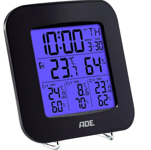 ADE WS 1823 Mobile Wetterstation für 22€ inkl. Versand (statt 43€)