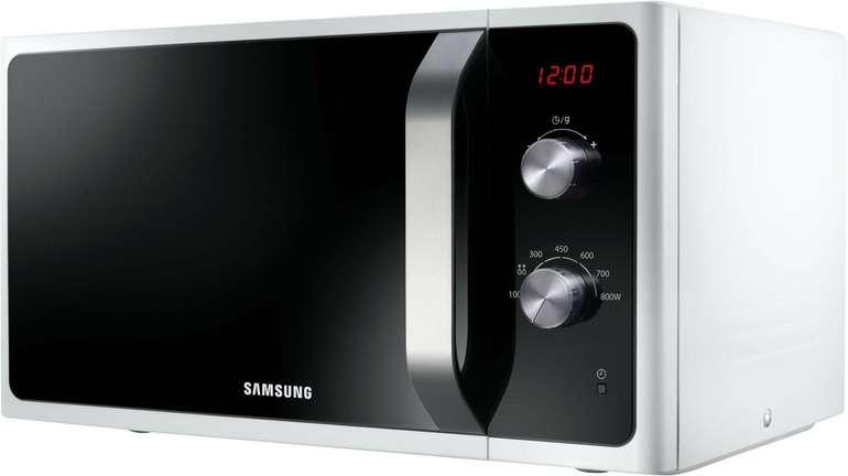 Samsung MS23F300EEW/EG Mikrowelle mit LED Anzeige für 77,06€ (statt 100€)