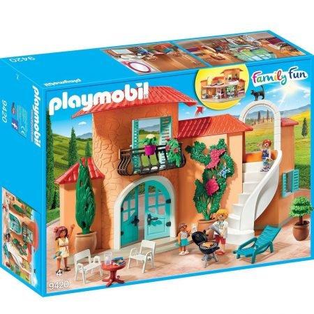 Playmobil Set Sonnige Ferienvilla (9420) für 29,99€ inkl. VSK