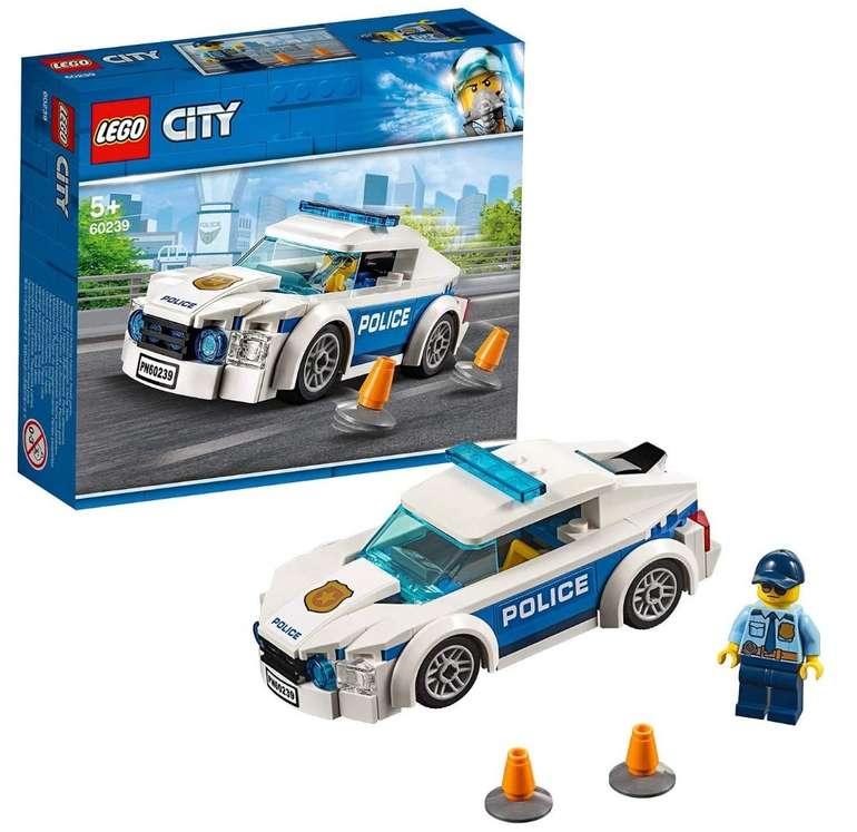 """Lego City Streifenwagen """"60239"""" für 6,47€ inkl. Prime Versand (statt 11€)"""