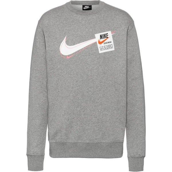 Nike Sportswear Sweatshirt 'T100 Swoosh Heritage' für 33,07€ inkl. Versand (statt 39€)
