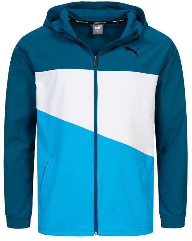 Puma Vent Woven Herren Jacke in Blau für 25,94€ inkl. Versand (statt 30€)