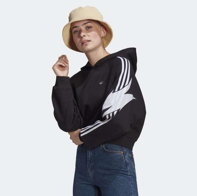 Adidas Originals Fakten Damen Hoodie für 31,85€ inkl. Versand (statt 51€)