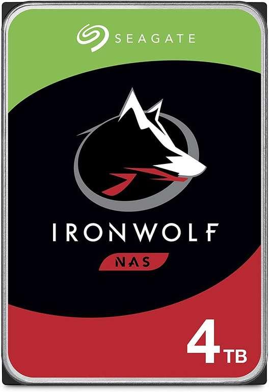 """Seagate IronWolf - 4 TB HDD-NAS-Festplatte (3,5"""", 5900 U/Min) für 90,09€ inkl. Versand - Newsletter Gutschein"""