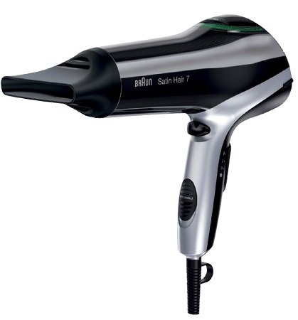 BRAUN Satin Hair 7 HD 730 Haartrockner + Diffusor für 29,99€ (statt 37,99€)