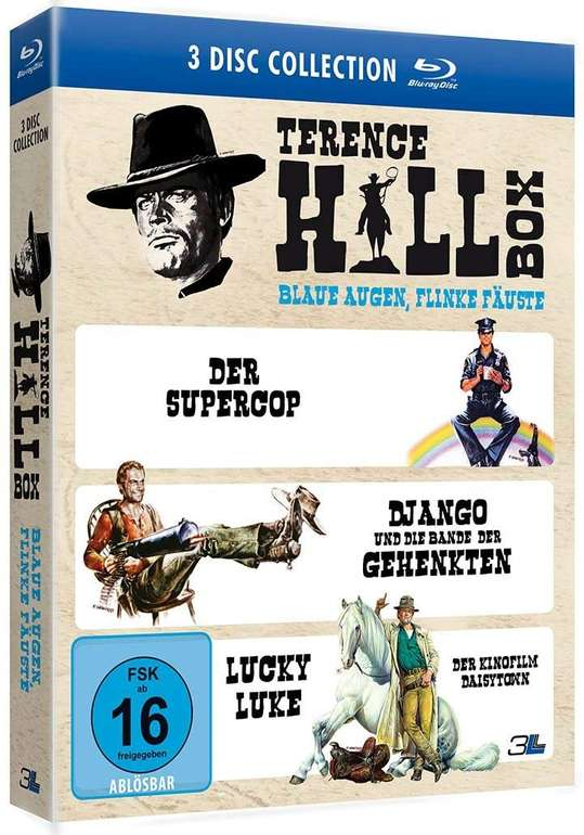 Terence Hill Box - Blaue Augen, flinke Fäuste (Blu-ray) für 8,99€ (Abholung)