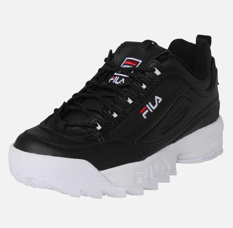 FILA Disruptor Sneaker in schwarz / weiß für 53,95€ inkl. Versand (statt 90€)
