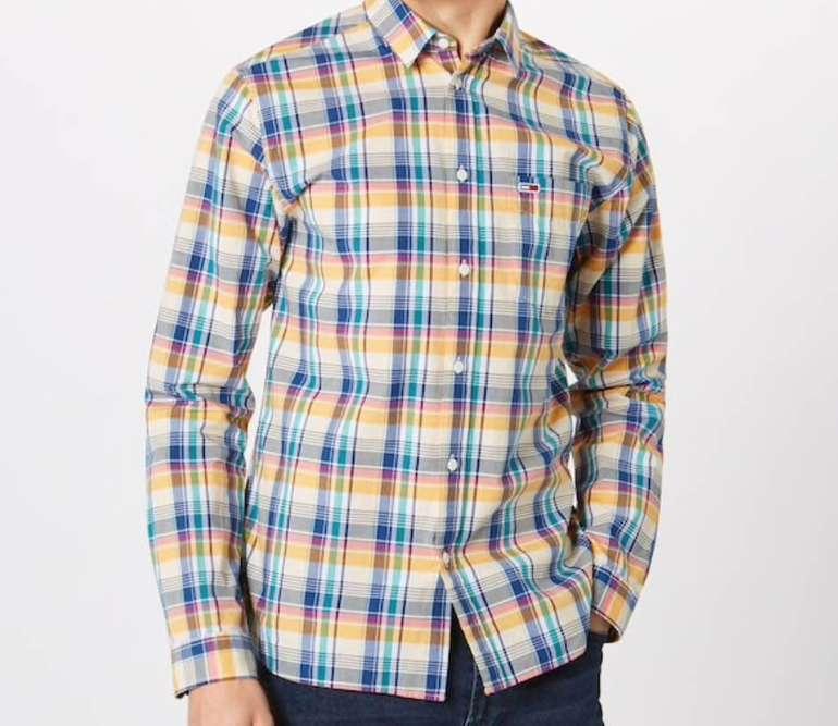 """Tommy Jeans """"TJM Essential Big Check"""" Herren Hemd für 29,67€ (statt 45€)"""