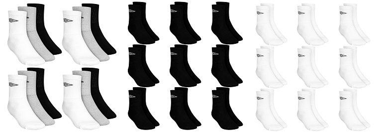 9er Pack Umbro Crew Sport Socken