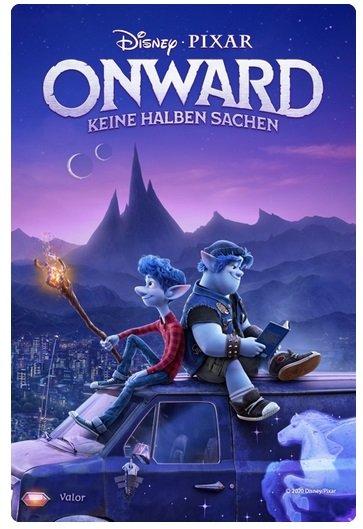 Film Onward in HD für 1,99€ leihen (iTunes/Amazon)