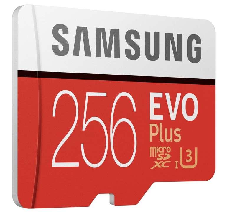 Samsung microSDXC EVO Plus 256GB für 25€ inkl. Versand (statt 31€)