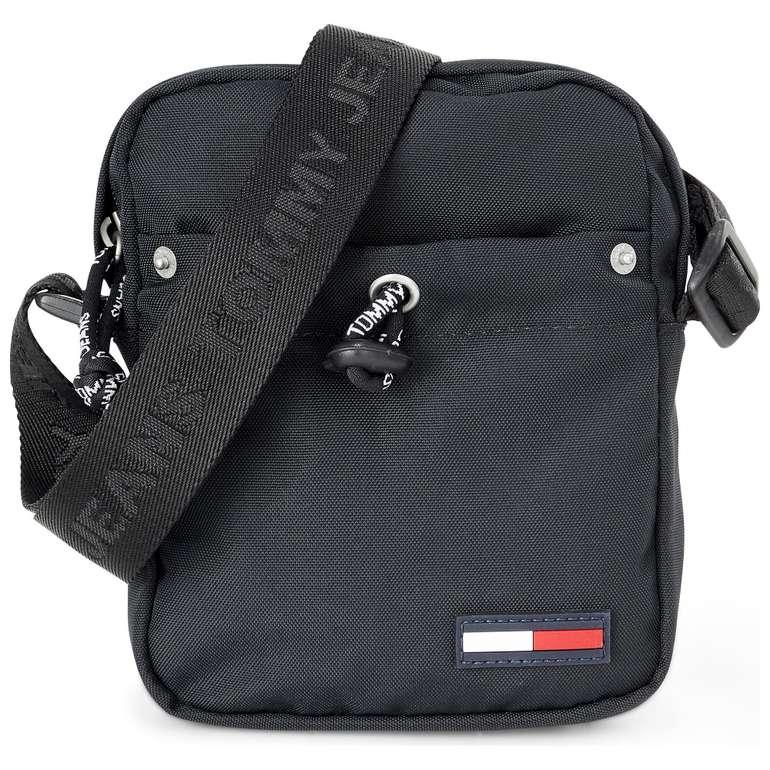 """Tommy Jeans Umhängetasche """"Campus Boy Mini Reporter"""" in Schwarz für 33,97€ (statt 39€)"""