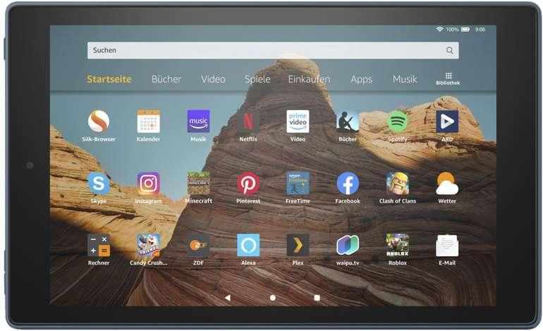 Amazon Fire HD 10 (2019) mit 32GB Speicher für 109,95€ inkl. Versand (statt 150€)