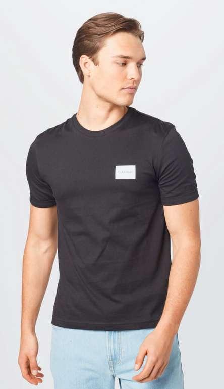 Calvin Klein Turn-Up T-Shirt in schwarz für 14,95€inkl. Versand (statt 30€)