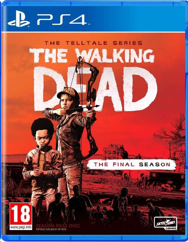 The Walking Dead: The Final Season (PlayStation 4) für 16,19€ inkl. Versand (statt 20€)