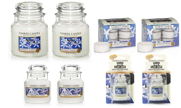 30er Set Yankee Candles 'Midnight Jasmine' für 22,98€ inkl. Versand