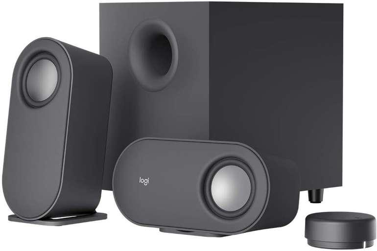 Logitech Z-407 - Bluetooth 2.1-Lautsprechersystem mit Subwoofer und kabelloser Bedienung je 57,90€