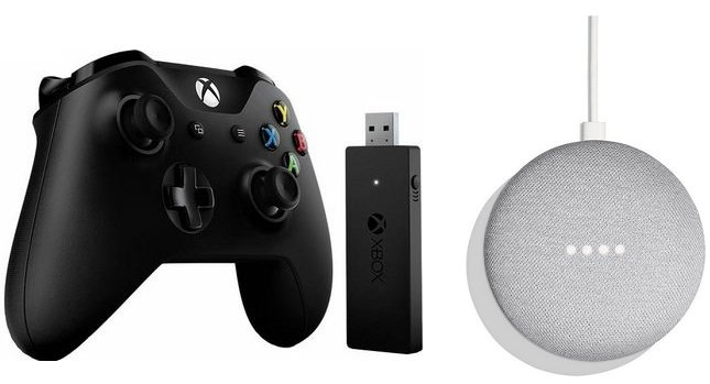 Xbox One Wireless Controller (PC) inkl. Adapter + Home Mini ab 49,99€ (st. 88€)