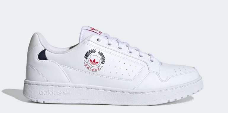 Adidas Sale mit bis zu 50% Rabatt + 15% Extra Rabatt - z.B. NY 92 Schuh in Weiß/Rot für 47,60€ (statt 64€)