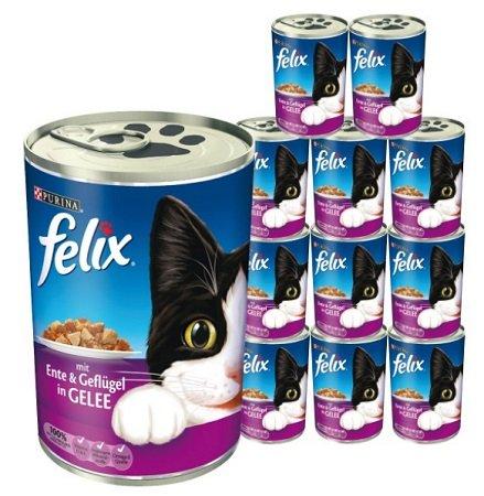 ZooRoyal: 15% Rabatt auf Felix Katzenfutter - z.B. 48x Felix Häppchen für 25€