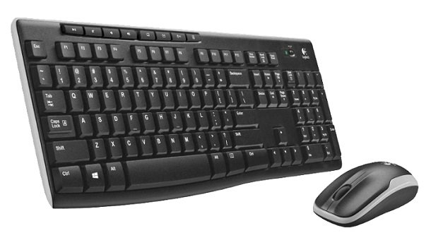 Logitech MK270 Wireless Combo (Maus + Tastatur) für 19€ inkl. Versand (statt 25€)