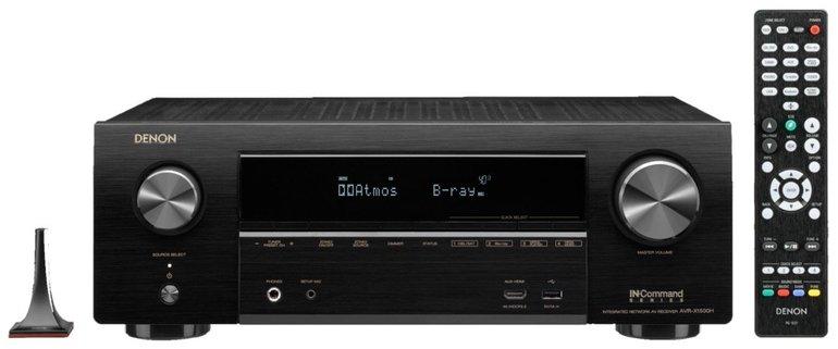 Denon AVR-X1500H – 7.1 AV Receiver mit WLAN, 4K & Dolby Atmos für 282,60€