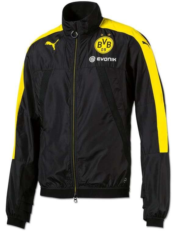 BVB Puma Trainingsjacke in Schwarzgelb für 24,49€ inkl. Versand (statt 40€)