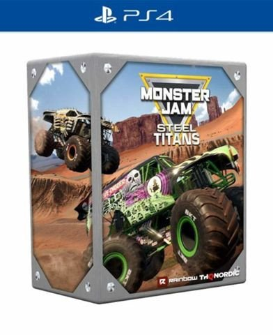 Monster Jam Steel Titans Collector's Edition (PS4) für 49€ inkl. Versand (statt 70€)