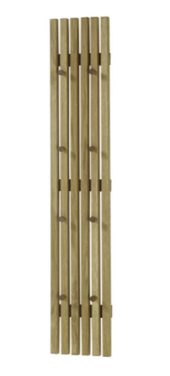 "Modern Living Garderobenpaneel ""Alwar"" (22 x 120 x 5 cm) für 70,88€ inkl. Versand (statt 95€)"