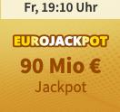 Endet 18:40 Uhr! 1.260 Chancen spielen für nur 4,90€ - 90 Mio € Jackpot!!!