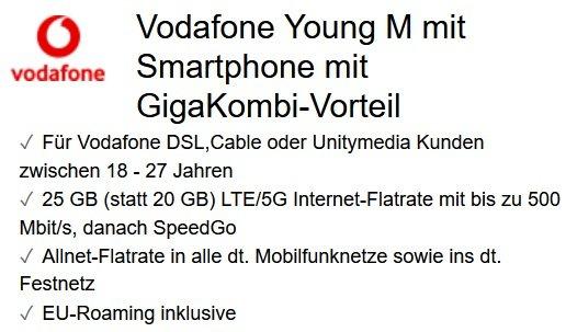 Xiaomi Mi 11 Lite 5G Mi Smart Clock 2 Vodafone Allnet-Flat 25GB LTE 2