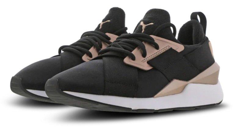 Puma Muse Damen Sneaker White-Black oder Black 2