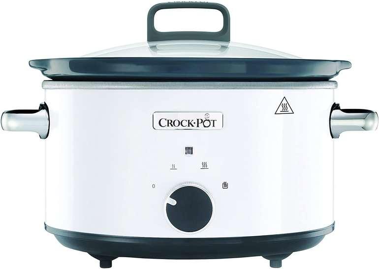 Crock-Pot CR030 Slow-Cooker (3.5 Liter, inkl. 3-teiligem Löffelset, Warmhaltefunktion) für 35,90€ (statt 58€)