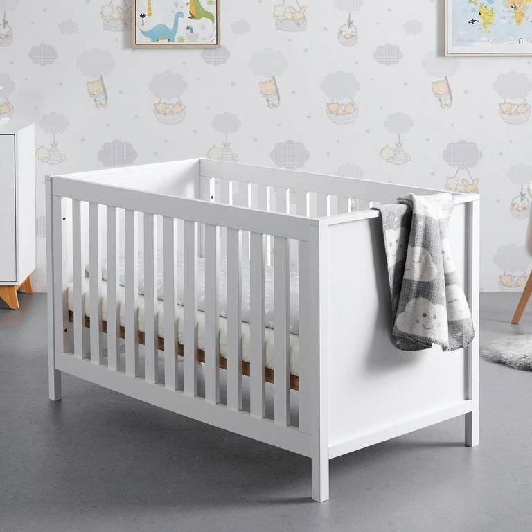 "Bessagi Kids Gitterbett inklusive Lattenrost in weiß ""Maria"" für 145,25€ inkl. Versand (statt 205€)"