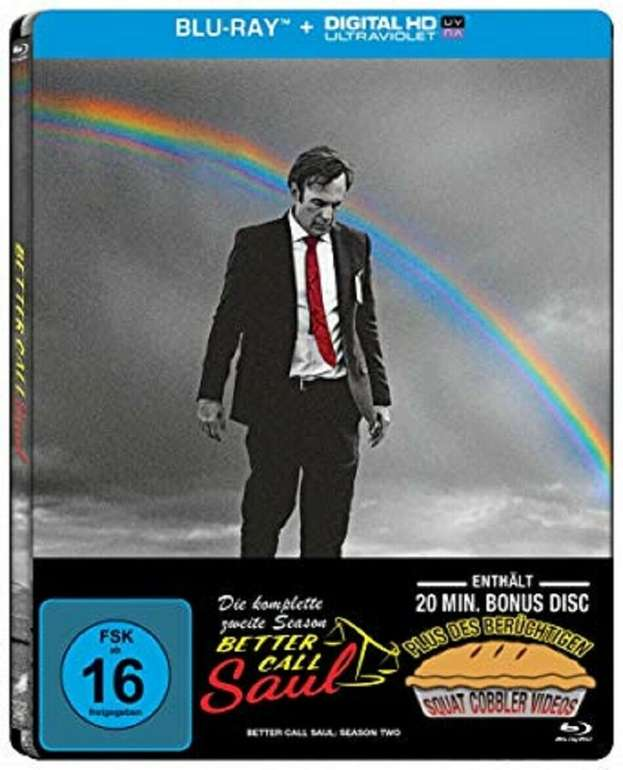 Better Call Saul Staffel 2 Steelbook Limited Edition 3 Discs + Bonusdisc (Blu-ray) für 8,99€inkl. Versand