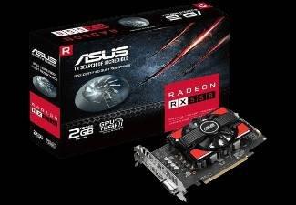 ASUS Radeon RX 550 2GB Grafikkarte für 87€ (statt 126,99€)