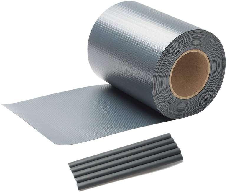 Vingo PVC Sichtschutzstreifen reduziert, z.B. Anthrazit 35m x 19cm für 13,99€ inkl. Versand (statt 20€)