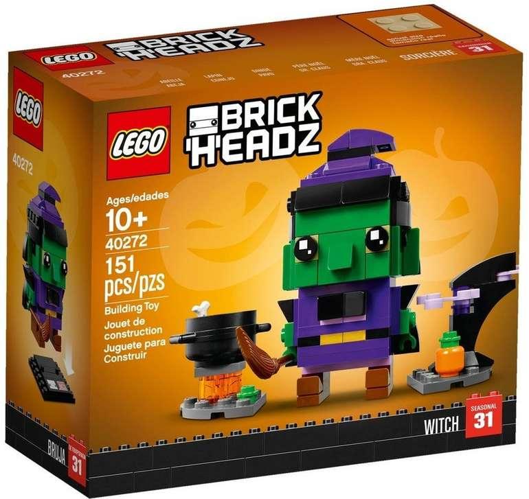 LEGO BrickHeadz 40272 - Halloween Hexe für 11,29€ (statt 18€)