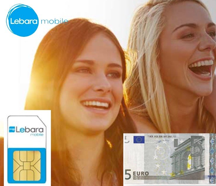 Endet 30.11: Kostenlose Lebara Prepaid-SIM 5€ Guthaben - weltweit günstig telen